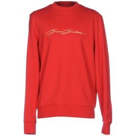 《期間限定 セール開催中》BRUNO BORDESE メンズ スウェットシャツ レッド L コットン 100%