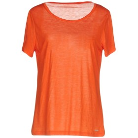 《期間限定 セール開催中》WOOLRICH レディース T シャツ オレンジ L テンセル 100%