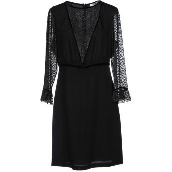 《セール開催中》BLUGIRL BLUMARINE レディース ミニワンピース&ドレス ブラック 40 100% レーヨン ポリエステル