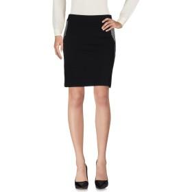 《送料無料》PIANURASTUDIO レディース ひざ丈スカート ブラック 42 レーヨン 63% / ナイロン 23% / コットン 10% / ポリウレタン 4%