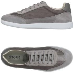 《期間限定 セール開催中》GEOX メンズ スニーカー&テニスシューズ(ローカット) グレー 45 革 / 紡績繊維