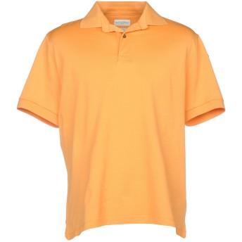 《9/20まで! 限定セール開催中》BALLANTYNE メンズ ポロシャツ オレンジ S 100% コットン
