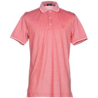 《期間限定セール開催中!》PAUL & SHARK メンズ ポロシャツ レッド XL コットン 100%