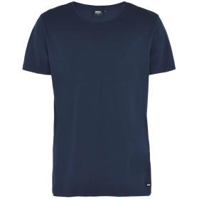 《期間限定セール開催中!》DR. DENIM JEANSMAKERS メンズ T シャツ ダークブルー XS オーガニックコットン 100%