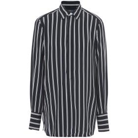 《セール開催中》POLO RALPH LAUREN レディース シャツ ブラック L シルク 100% Silk Georgette Shirt
