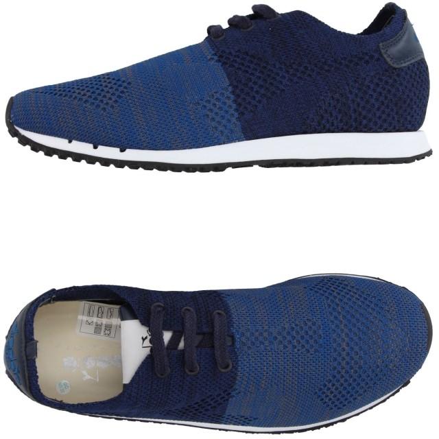 《セール開催中》DIADORA HERITAGE メンズ スニーカー&テニスシューズ(ローカット) ブルー 3.5 紡績繊維 / 革