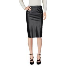 《セール開催中》JUCCA レディース ひざ丈スカート ブラック 40 ポリエステル 74% / ポリウレタン 26%
