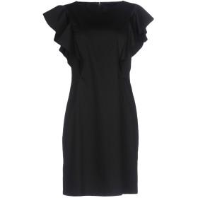 《セール開催中》ALBERTA FERRETTI レディース ミニワンピース&ドレス ブラック 40 コットン 97% / 指定外繊維 3%