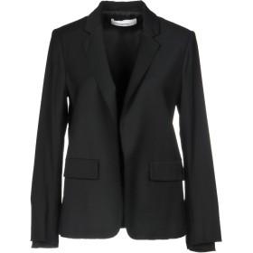 《期間限定セール開催中!》MAURO GRIFONI レディース テーラードジャケット ブラック 42 レーヨン 53% / バージンウール 45% / ポリウレタン 2%