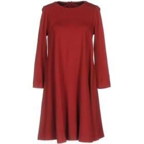《送料無料》LIVIANA CONTI レディース ミニワンピース&ドレス レッド 40 87% レーヨン 10% ナイロン 3% ポリウレタン
