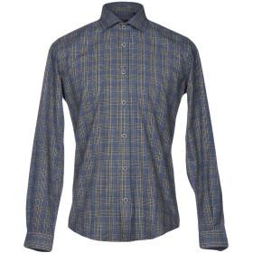 《セール開催中》LIU JO MAN メンズ シャツ グレー 38 コットン 70% / ポリエステル 30%