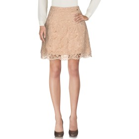 《セール開催中》ELISABETTA FRANCHI レディース ひざ丈スカート ベージュ 40 ナイロン 69% / ポリエステル 31%