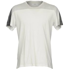 《期間限定セール開催中!》AMARANTO メンズ T シャツ ホワイト M コットン 50% / ポリエステル 50%