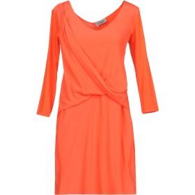 《期間限定 セール開催中》VIOLET ATOS LOMBARDINI レディース ミニワンピース&ドレス オレンジ 40 レーヨン 90% / ポリウレタン 10%