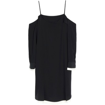 《セール開催中》RAG & BONE レディース ミニワンピース&ドレス ブラック XS シルク 100%
