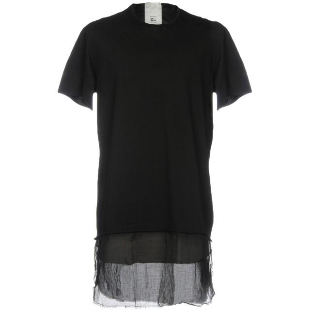 《セール開催中》LOST & FOUND メンズ T シャツ ブラック XS 100% コットン