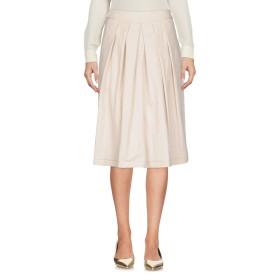 《送料無料》ROSSO35 レディース ひざ丈スカート サンド 42 コットン 95% / ナイロン 5%