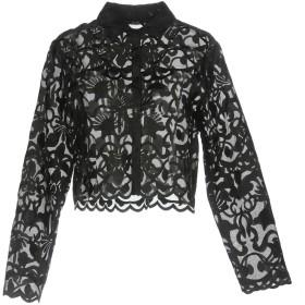 《期間限定セール開催中!》SEVENTY SERGIO TEGON レディース シャツ ブラック 44 シルク 100% / ポリエステル