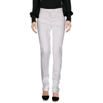 《セール開催中》WEBER レディース パンツ ホワイト 42 コットン 97% / ポリウレタン 3%