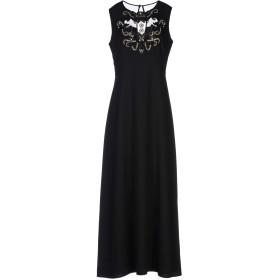 《セール開催中》DARLING London レディース ロングワンピース&ドレス ブラック 8 ポリエステル 100%