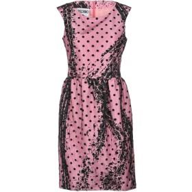 《期間限定 セール開催中》MOSCHINO レディース ミニワンピース&ドレス ピンク 36 ポリエステル 100% / ナイロン / レーヨン