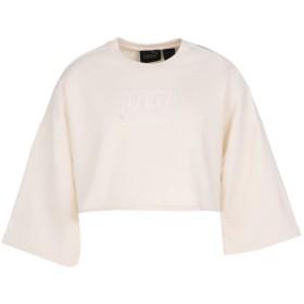 《期間限定 セール開催中》FENTY PUMA by RIHANNA レディース スウェットシャツ アイボリー 14 コットン 80% / ポリエステル 16% / ポリウレタン 4% CROPPED CREW NECK T-SHIRT