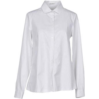 《セール開催中》CAMICETTASNOB レディース シャツ ライトグレー 44 コットン 72% / レーヨン 22% / ポリエステル 6%