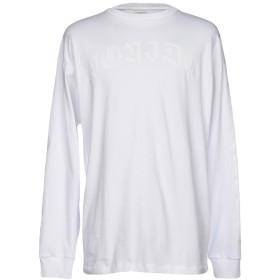 《期間限定 セール開催中》MARCELO BURLON メンズ T シャツ ホワイト S コットン 100%