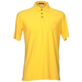 《期間限定 セール開催中》ROBERTO COLLINA メンズ ポロシャツ イエロー 50 100% コットン