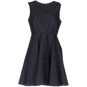 《送料無料》NORA BARTH レディース ミニワンピース&ドレス ブルー 46 97% コットン 3% ポリウレタン