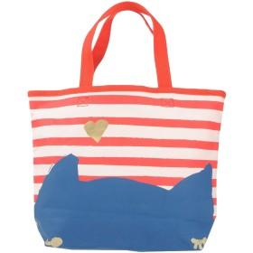 《期間限定 セール開催中》CAT'S TSUMORI CHISATO レディース ハンドバッグ レッド 紡績繊維