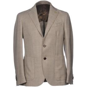 《期間限定 セール開催中》PAOLONI メンズ テーラードジャケット サンド 54 バージンウール 99% / ポリウレタン 1%