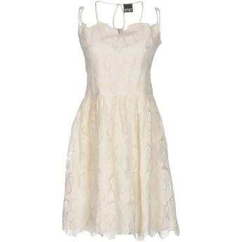 《セール開催中》PF PAOLA FRANI レディース ミニワンピース&ドレス ホワイト 40 ナイロン 100%