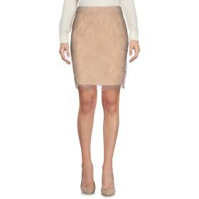 《送料無料》EMILIO PUCCI レディース ひざ丈スカート サンド 44 ナイロン 65% / レーヨン 35%