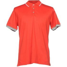 《期間限定 セール開催中》PEUTEREY メンズ ポロシャツ レッド XXS 100% コットン