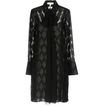 《セール開催中》MICHAEL MICHAEL KORS レディース ミニワンピース&ドレス ブラック 0 ポリエステル 100%