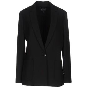 《期間限定セール開催中!》ARMANI JEANS レディース テーラードジャケット ブラック 46 100% ポリエステル