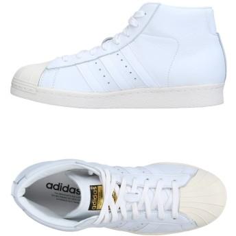 《セール開催中》ADIDAS ORIGINALS メンズ スニーカー&テニスシューズ(ハイカット) ホワイト 4.5 革