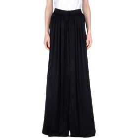 《期間限定 セール開催中》ANN DEMEULEMEESTER レディース ロングスカート ブラック 38 ポリエステル 100%