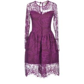 《セール開催中》ANIYE BY レディース ミニワンピース&ドレス パープル S ナイロン 100% / ポリエステル / ポリウレタン