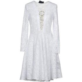 《セール開催中》PHILIPP PLEIN レディース ミニワンピース&ドレス ホワイト XS ポリエステル 100%