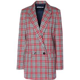 《セール開催中》PIERRE DARR レディース テーラードジャケット グレー XS ポリエステル 63% / レーヨン 34% / ポリウレタン 3%