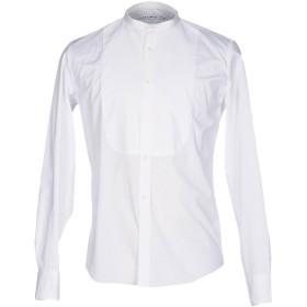 《期間限定 セール開催中》DEPARTMENT 5 メンズ シャツ ホワイト 41 コットン 97% / ポリウレタン 3%