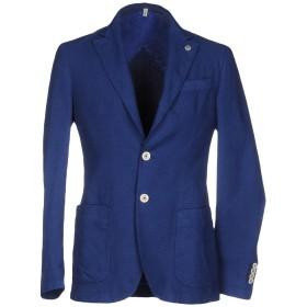 《期間限定セール開催中!》DOMENICO TAGLIENTE メンズ テーラードジャケット ブルー 54 コットン 92% / ポリウレタン 8%