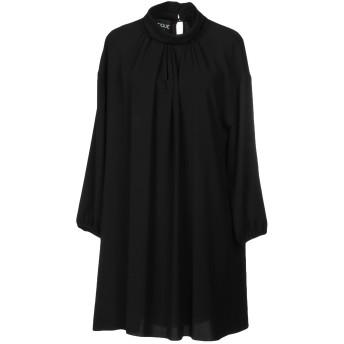 《セール開催中》BOUTIQUE MOSCHINO レディース ミニワンピース&ドレス ブラック 40 82% トリアセテート 18% ポリエステル