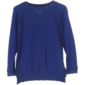《期間限定セール開催中!》VDP CLUB レディース スウェットシャツ ブルー 44 アセテート 69% / シルク 31%