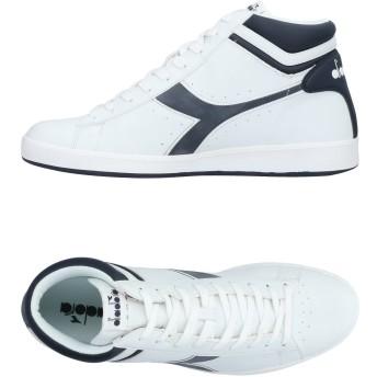 《セール開催中》DIADORA メンズ スニーカー&テニスシューズ(ハイカット) ホワイト 7 紡績繊維
