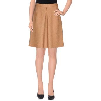 《セール開催中》L' AUTRE CHOSE レディース ひざ丈スカート 赤茶色 42 バージンウール 40% / アクリル 40% / ポリエステル 20%