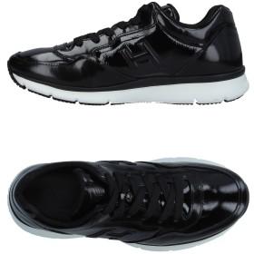 《期間限定 セール開催中》HOGAN メンズ スニーカー&テニスシューズ(ローカット) ブラック 6 革