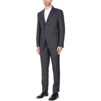 《セール開催中》TRU TRUSSARDI メンズ スーツ 鉛色 54 ポリエステル 70% / レーヨン 30%